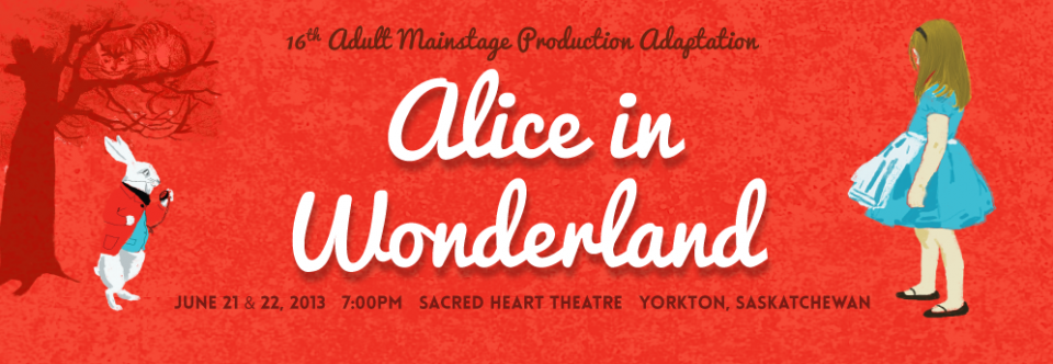 Alice in Wonderland: Adult Mainstage Production Adaptation
